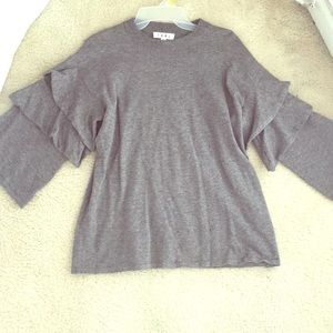 Gray THML sweater